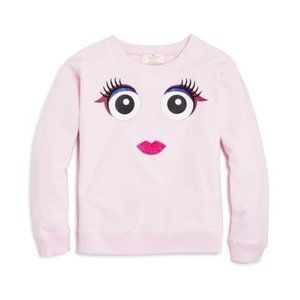 Kate Spade Pink Monster Cherry Blossom Sweatshirt